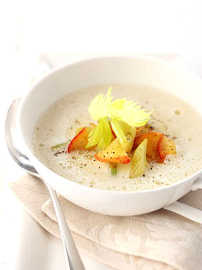 Sellerie-Apfel-Suppe